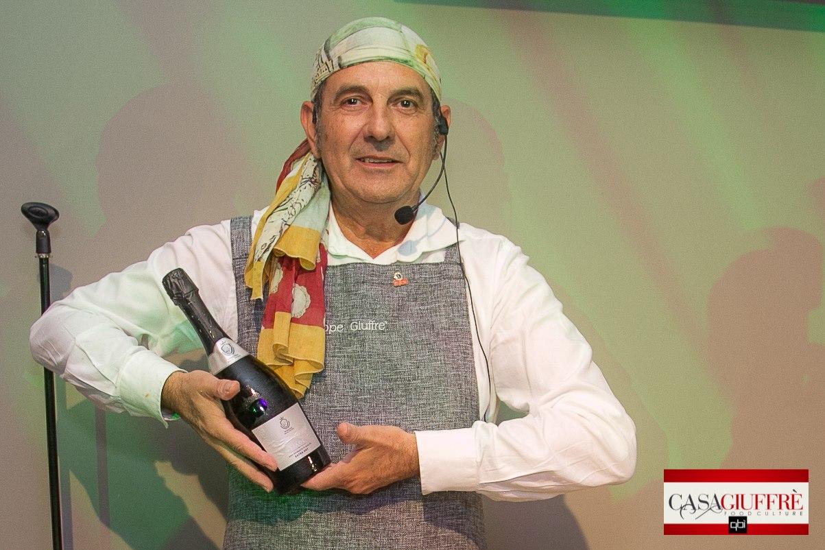 Chef Giuffrè ai fornelli con i vini del Marchese delle Saline