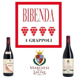 Eccoci nella nuova edizione della prestigiosa guida dei migliori vini italiani 2021. I nostri Etna Rosso prephilloxera Longitudo15 e Tiade hanno ottenuto entrambi i 4 grappoli Bibenda. Un risultato che ci rende molto orgogliosi del grande lavoro che svolgiamo tutti i giorni con grande amore e dedizione 🍷❤️🌋 . . 🍷Vini 🌊 mari 🌋 vulcani _______________________________ www.marchesedellesaline.com . . #bibenda #nerellomascalese #sicily #terroirs #organic #natural #wines #italy #wine #vino #winelover #withewine #winery #winelovers #instawine #wines #etna #winelife #california #newyork #winemaker #biologico #vinoitaliano #vinorosso #italianwines #etnawine